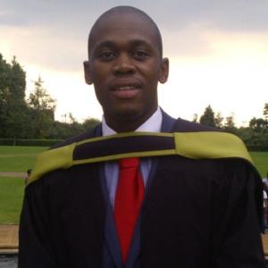Reabetswe graduating