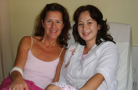 Madelein Schultz-Du Toit (on the left) & Cindy Le Roux (on the right)
